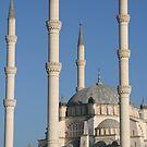 Adana spires by DKphotoart