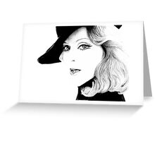 Madonna Style Greeting Card