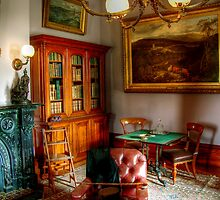 The Library at Werribee Mansion by Christine Smith