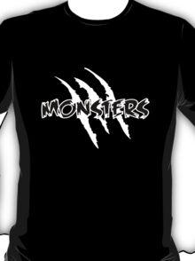 MONSTERS logo Black T-Shirt