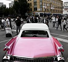 Candy Pink Cadillac by Davin Andrie