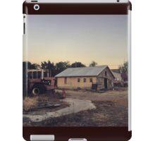 Farm at dust Wasington State iPad Case/Skin