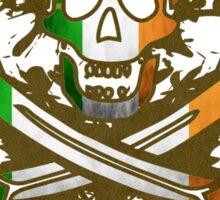Ireland Jolly Rogger Sticker