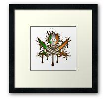 Ireland Jolly Rogger Framed Print