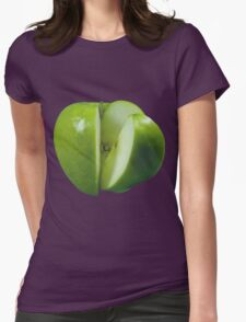 GRANNY SMITH APPLE Womens Fitted T-Shirt