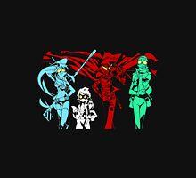 gurren lagann yoko kamina simon boota anime manga shirt Unisex T-Shirt