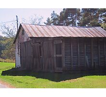 An Old Shed Photographic Print