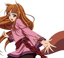 Ookami to Koushinryou - Spice and Wolf - Holo - TRANSPARENT (CUT RENDER) by frictionqt