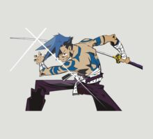 gurren lagann kamina anime manga shirt by ToDum2Lov3