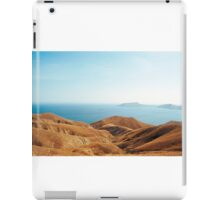 Yellow hills iPad Case/Skin