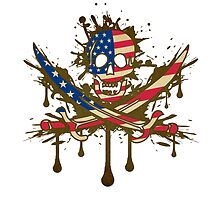 America Jolly Rogger by WondraBox