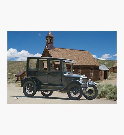 Ford Model T Antique Sedan Photographic Print