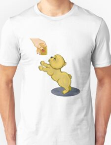 Snooze Poop Dog - anything for a custard cream Unisex T-Shirt