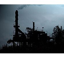 Heavy Industry Photographic Print
