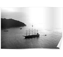 Boats of Dubrovnik Poster