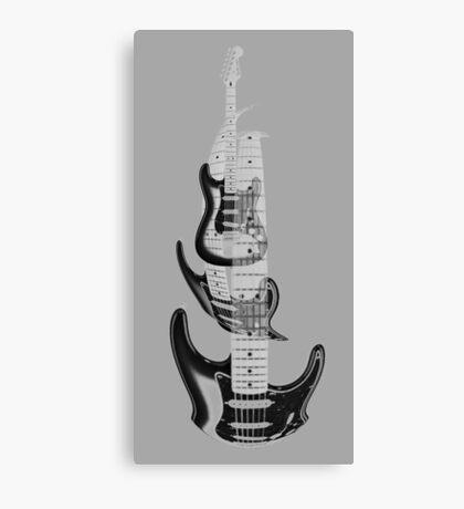 guitar warp Canvas Print