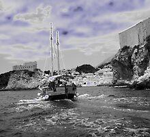 Blue Dubrovnik by ninadangelo