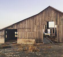 Rustic barn by JULIENICOLEWEBB