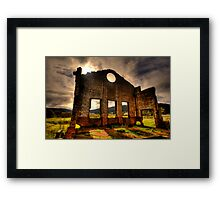 Better Times - Blast Furnace Park -, Lithgow NSW Australia - The HDR Experience Framed Print