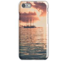 Recreational Yacht at the Indian Ocean iPhone Case/Skin
