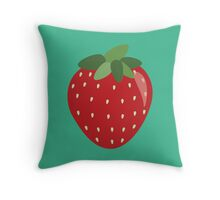 Summer Strawberry!  Throw Pillow