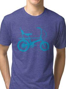 Blue Chopper Silhouette Tri-blend T-Shirt