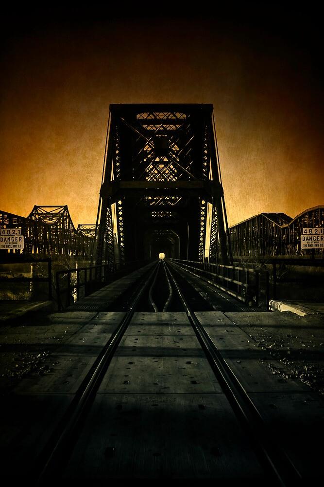 """Old Bridges"" - Memphis, Tennessee by jscherr"