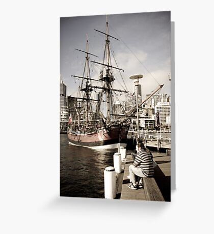 Endeavour  Greeting Card