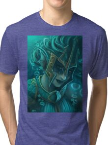 The Lady Kraken Tri-blend T-Shirt