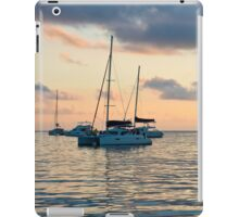 Recreational Yachts at the Indian Ocean iPad Case/Skin