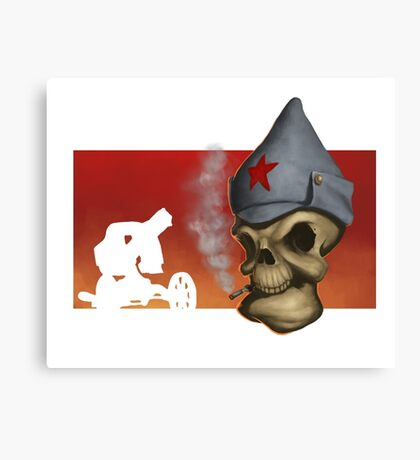 Red Army Canvas Print
