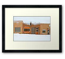 """Smoes"" - Sioux Falls, South Dakota Framed Print"