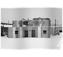 """Pig Arena"" - Sioux Falls, South Dakota Poster"