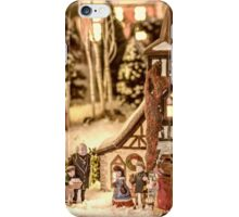 Gathering In The Churchyard iPhone Case/Skin