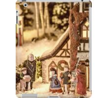 Gathering In The Churchyard iPad Case/Skin