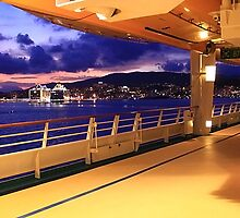 Leaving Palma de Maiorca . Adventure of the Seas. Cruise by terezadelpilar~ art & architecture