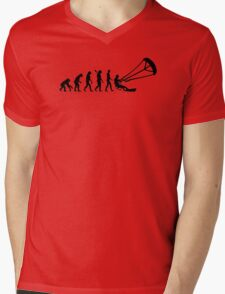 Evolution Kitesurfing Mens V-Neck T-Shirt