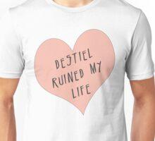 Destiel ruined my life Unisex T-Shirt