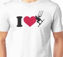 I love Kitesurfing Unisex T-Shirt