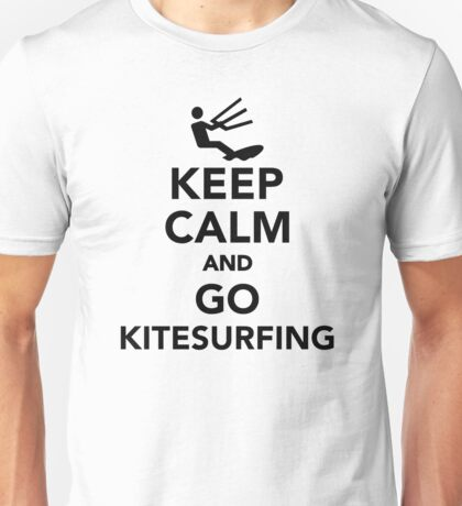 Keep calm and go Kitesurfing Unisex T-Shirt