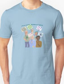 Sixties protest...and the band plays on.. T-Shirt