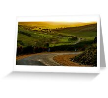 """""""Peace In The Valley"""" Greeting Card"""