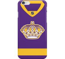 Los Angeles Kings Purple Throwback Jersey iPhone Case/Skin