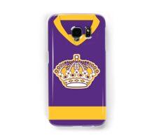 Los Angeles Kings Purple Throwback Jersey Samsung Galaxy Case/Skin