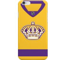 Los Angeles Kings Gold Throwback Jersey iPhone Case/Skin