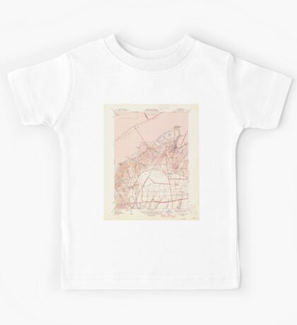 Massachusetts  USGS Historical Topo Map MA Vineyard Haven 352285 1944 31680 Kids Tee