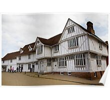 The Guildhall Lavenham Poster