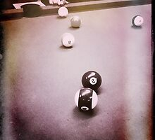 Down At The Pool Hall - 5 by Eric Scott Birdwhistell