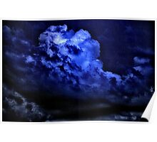 Dark Stormy Sky Poster
