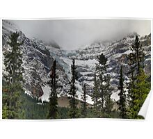 Snowy glaciers Poster